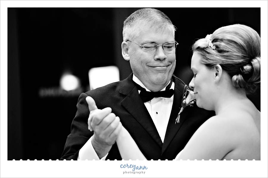 father daughter dance in cuyahoga falls