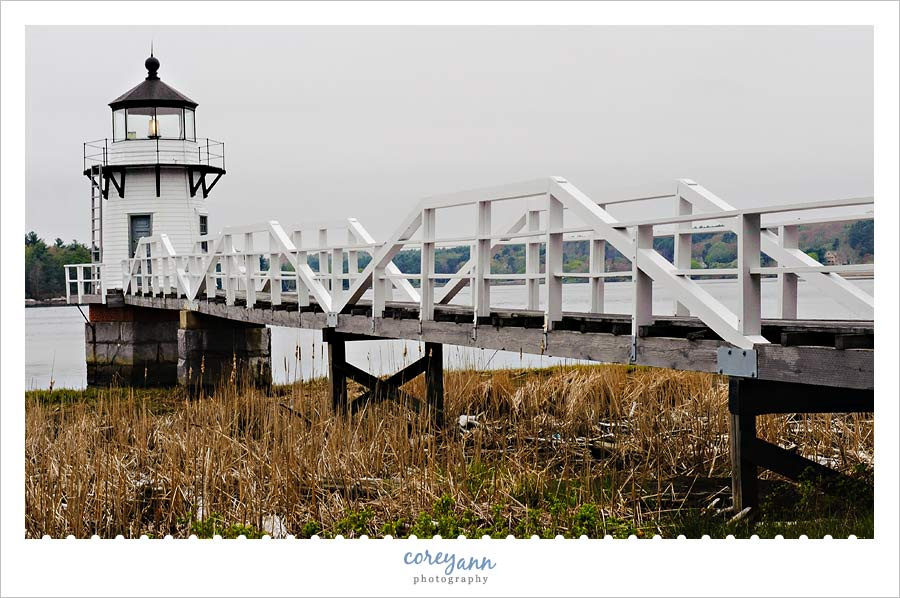 Doubling Point Lighthouse in Arrowsic Maine
