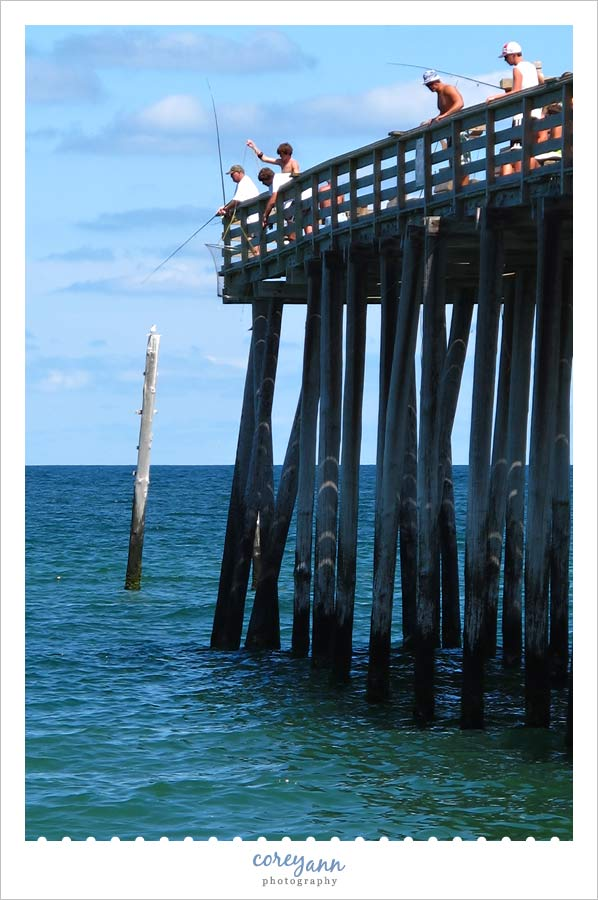 Travel outer banks of north carolina corey ann photography for Nc fishing piers